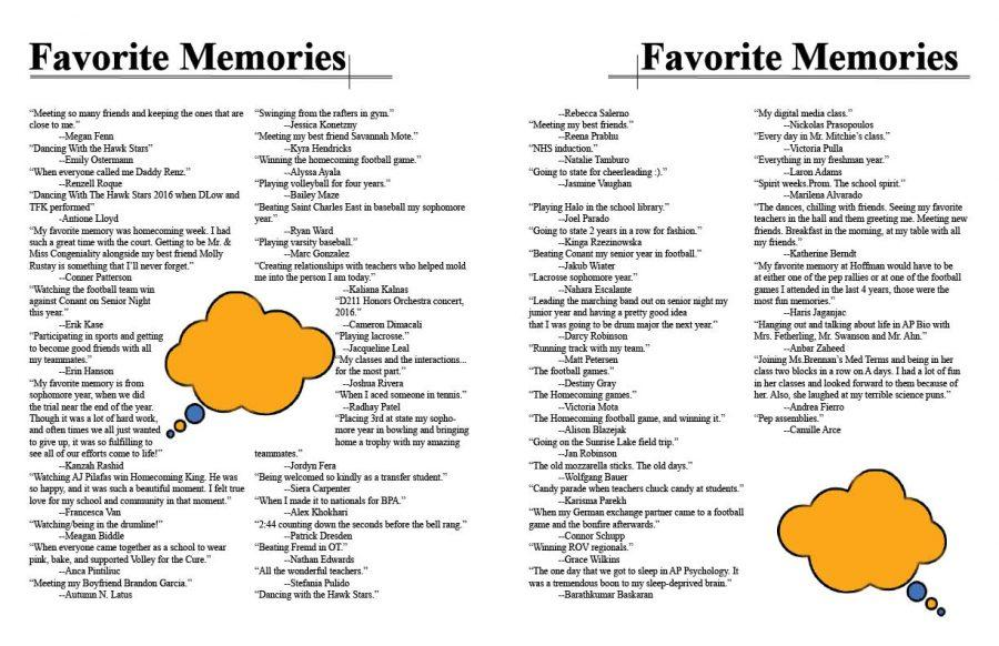 Seniors recall their favorite HEHS memories