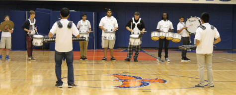 Homecoming assembly highlights student talent