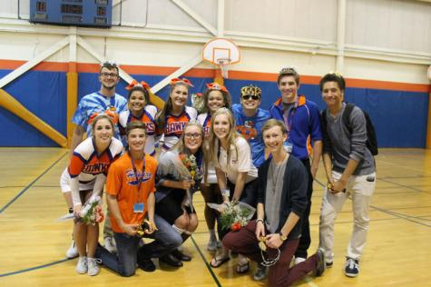 2014 – 2015 Homecoming Court
