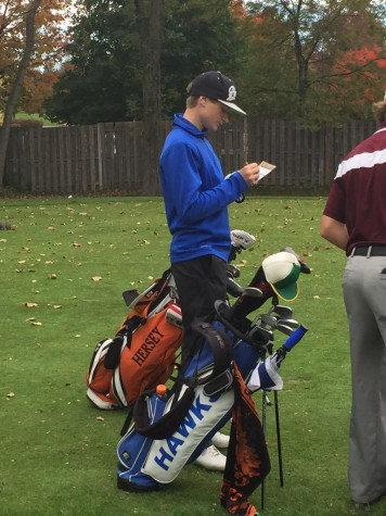Alex Harrison qualifies for golf sectionals