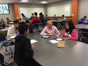 Hoffman Estates High School's Business Incubator course teaches management, teamwork, economics, and all sorts of business-related skills.