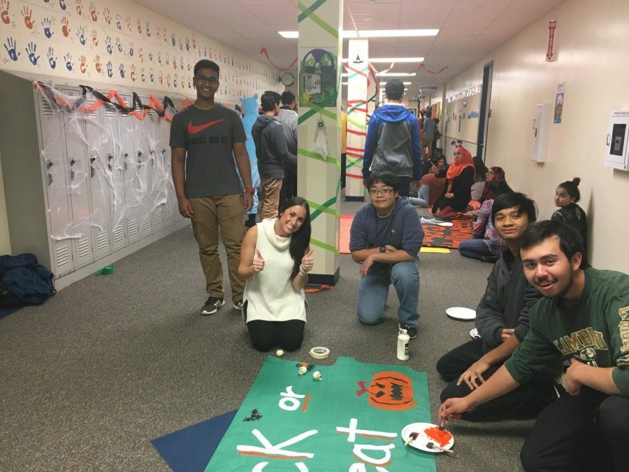 HEHS students, staff make Halloween special for the community