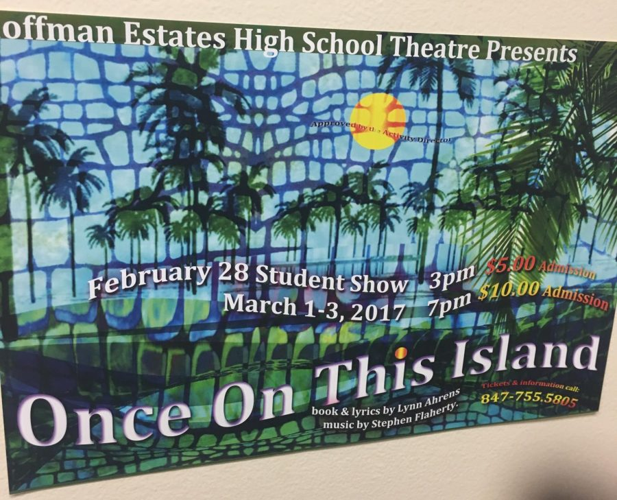 This year's musical, Once on this Island, will engage and entertain