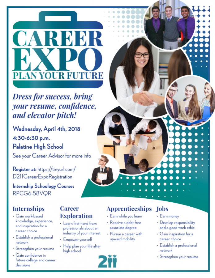 Students' guide to D211's Career Expo