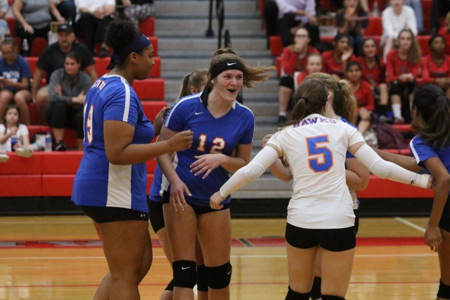 Improvement, perseverance: Girls' volleyball achieves both of these goals this season