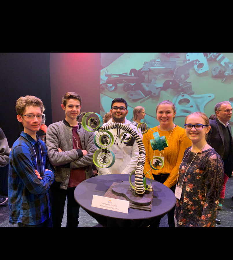 HEHS takes first place at Building STEAM event