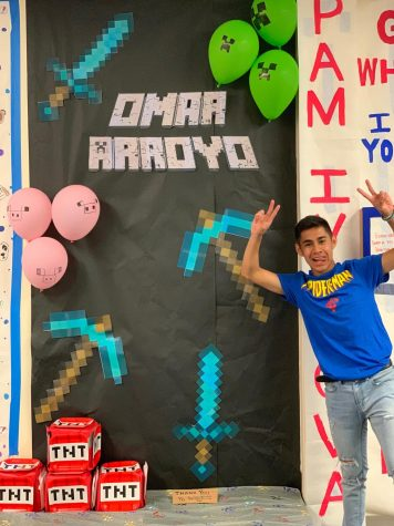 Omar Arroyo has worked hard to overcome obstacles