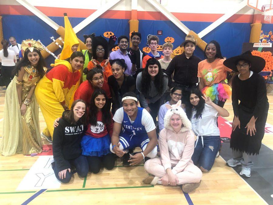 Halloween fun fills HEHS hallways