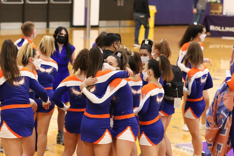 HEHS Cheerleading shows improvement despite this year