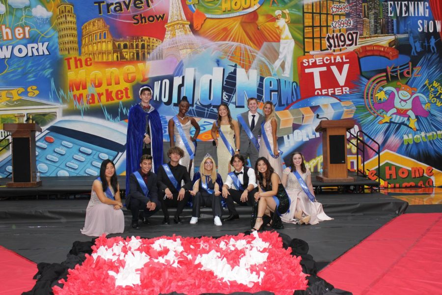 Luka Sparavalo and Evelyn Simon were crowned this years Homecoming Royalty at Coronation. Ashley Oliver and Elyssa Wuerffel were voted Most Congenial.